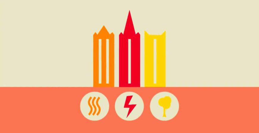 réseau de chauffage urbain