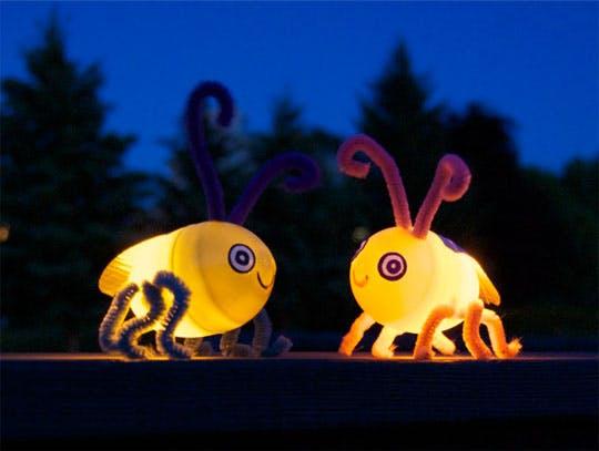 fabrication des lucioles