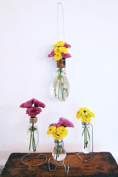 Vases d'ampoules