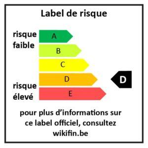 Label de risque