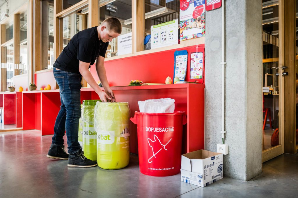 Recycleren Kouter Kortrijk