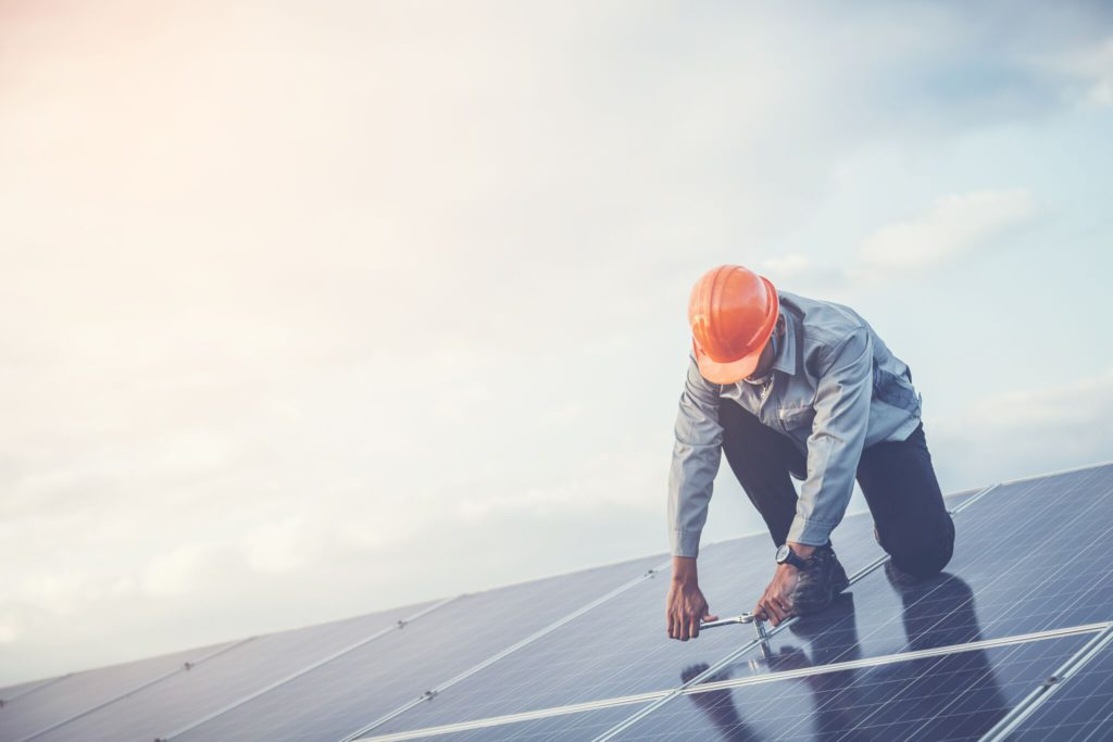 onderhoud zonnepanelen professional