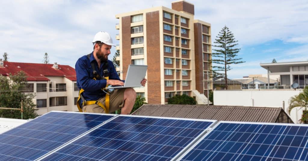 Aide panneaux solaires