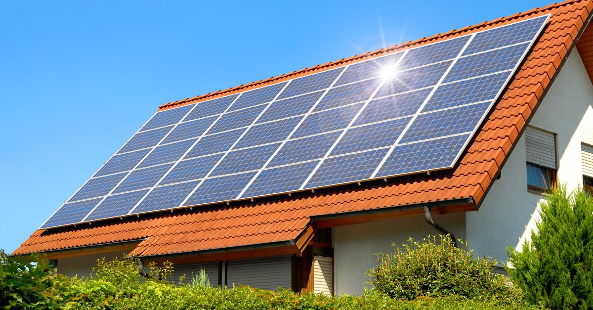 une perte de rendement de vos panneaux solaires