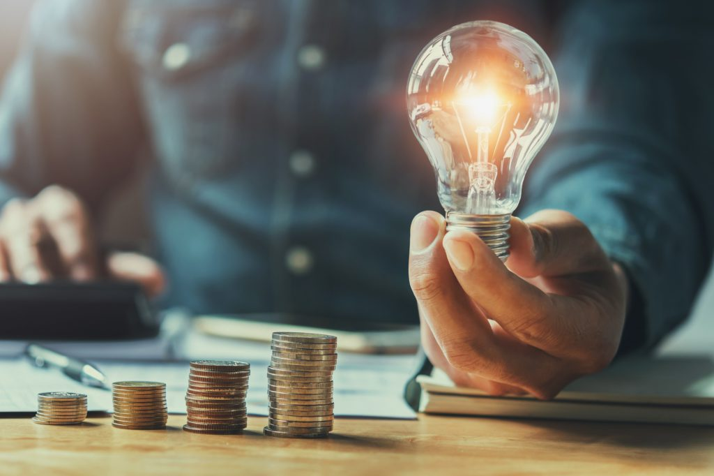 Energie LED besparen SOHO