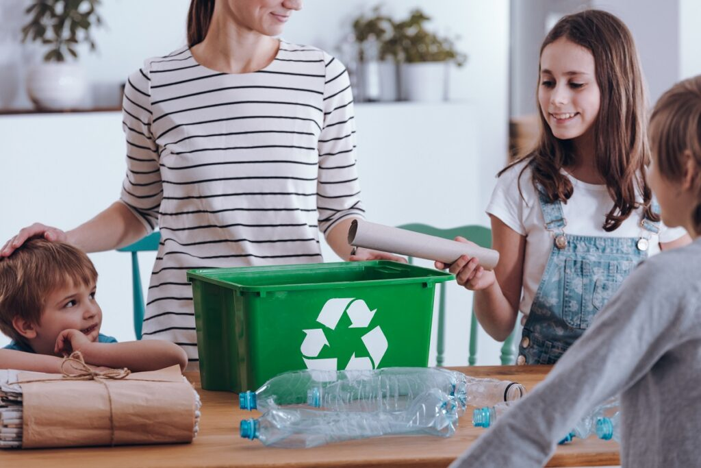 Afval recycleren Luminus