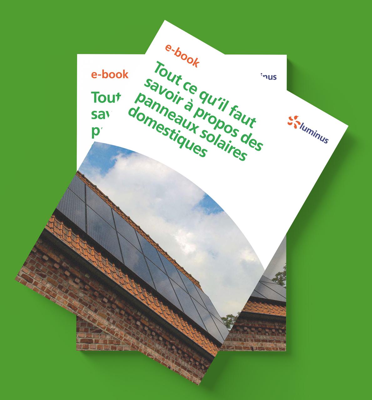 Luminus ebook panneaux solaires