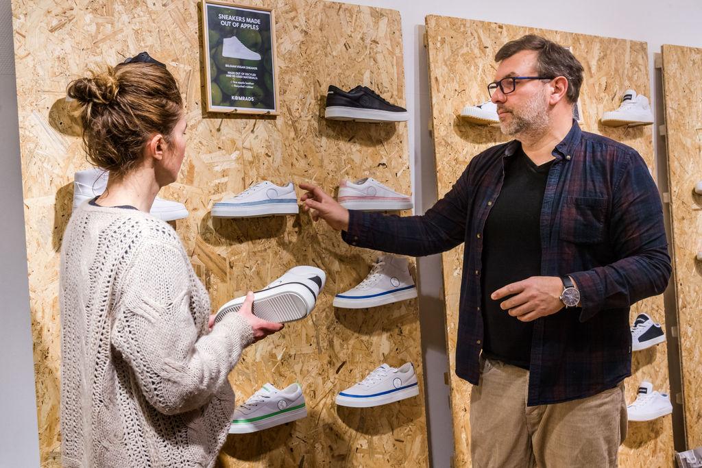 Komrads schoenen